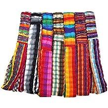 Wholesale 3 Cotton Headbands Hair Assortment Hand Woven Colorful Peru Fair Trade
