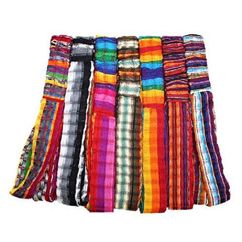 Wholesale 3 Cotton Headbands Hair Assortment Hand Woven Colorful Peru Fair Trade by Sanyork