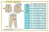 Spring Notion Big Boys' Modern Fit Black Suit Set 08