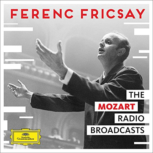CD : Ferenc Fricsay - Unreleased Mozart Radio Broadcasts (Boxed Set, 4 Disc)