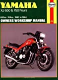 Yamaha XJ 650 and XJ 750 Fours Owners Workshop Manual, No. M738: '80-'84 1st (first) by Haynes, John (1988) Paperback