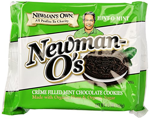 Newman's Own Organics Cookie O Mint Creme, 13 oz