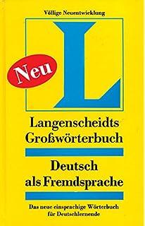Buy langenscheidts grossworterbuch deutsch als fremdsprache langenscheidt grossworterbuch daf fandeluxe Image collections