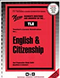 English and Citizenship, Rudman, Jack, 0837380170