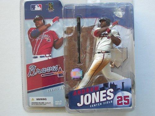 Mcfarlane MLB Series 15 Action Figures: Andruw Jones White Jersey Variant