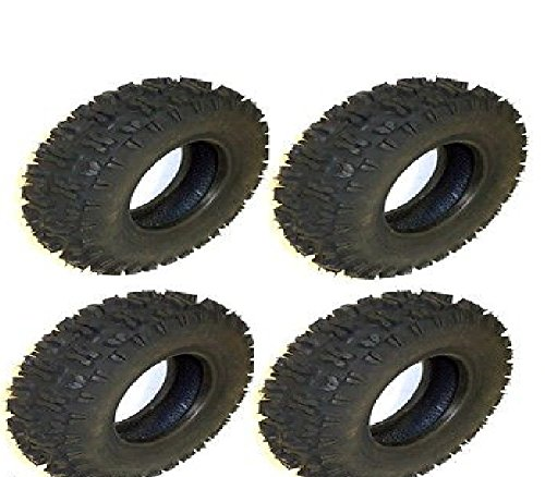 (4 pk) 8007 Carlisle Snow Hog 410x6 Tubless Tires 2 Ply
