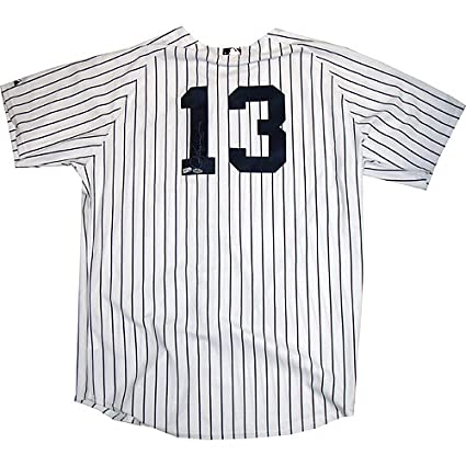 size 40 751ca aabda MLB New York Yankees Alex Rodriguez Game Used Home Jersey ...