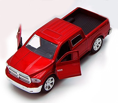 - Jada Toys 2013 Dodge Ram 1500 Pickup Truck Collectible Diecast Model Car Red