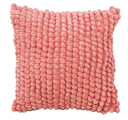 Emma & Violet by Westex Bubbles Salmon Sofa Cushion Decorative Throw Pillow Cover, 20 x 20