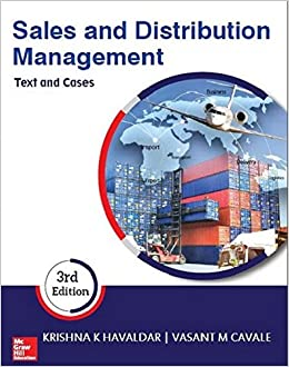 Sales And Distribution Management By Havaldar Pdf
