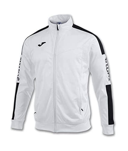 f375d098957 Amazon.com : Joma Teamwear Jacket Champion IV White-Black Uniforms ...