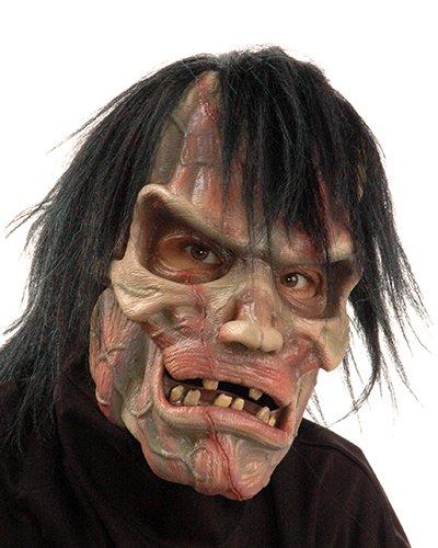 Zagone Two Bit Roar Mask, Gorilla, Ape, Primate Moving Mouth