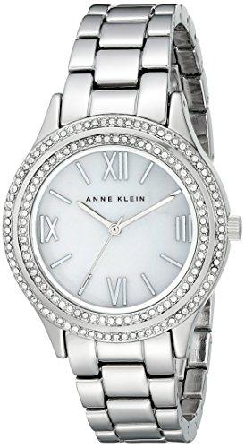 Women's Anne Klein Crystal Accent Bracelet Watch, 34mm -
