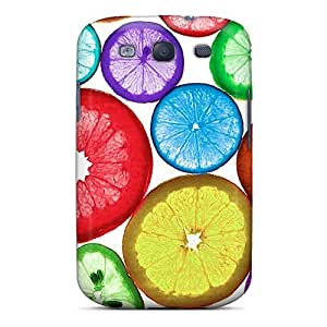 Hellocases YBK5156tvWv Case Cover Skin For Galaxy S3 (colorful Citrus)