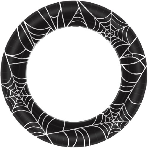 Amscan Spider Webs Dinner Plates (40ct)]()
