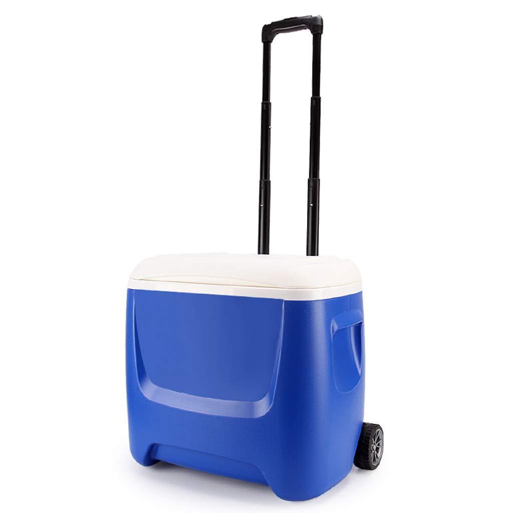 MLXBWH Isolierungskasten, Tragbare Kühlbox des Haushaltseiswürfels Im Freien Aufbewahrungsbehälter