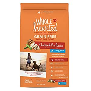 Amazon Com Wholehearted Grain Free Large Breed Adult