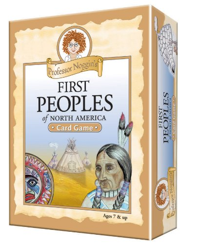 Educational Trivia Card Game - Professor Noggin's First Peoples of