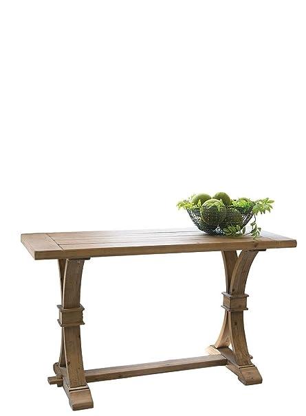 Merveilleux Wood Trestle Sofa Or Hall Console Table 52u0026quot;