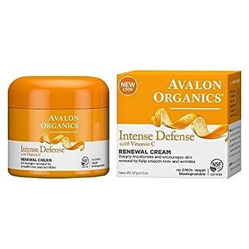 Avalon Organics Vitamin C Renewal Creme, 2 Oz 1