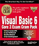 MCSD Visual Basic 6 Core 3, Certification Insider Press Staff, 1576103935