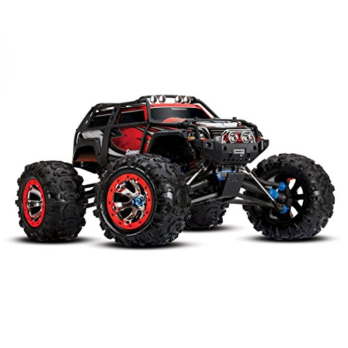 Traxxas Summit 4WD Monster Truck with 2.4GHz TQi Radio Toy (Traxxas Summit Battery Lipo)