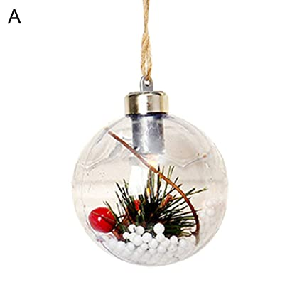 Amazon Com Erdouckan Christmas Decorations Transparent
