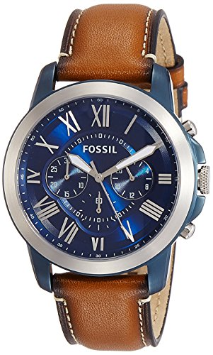Fossil Quartz Stainless Leather Chronograph product image