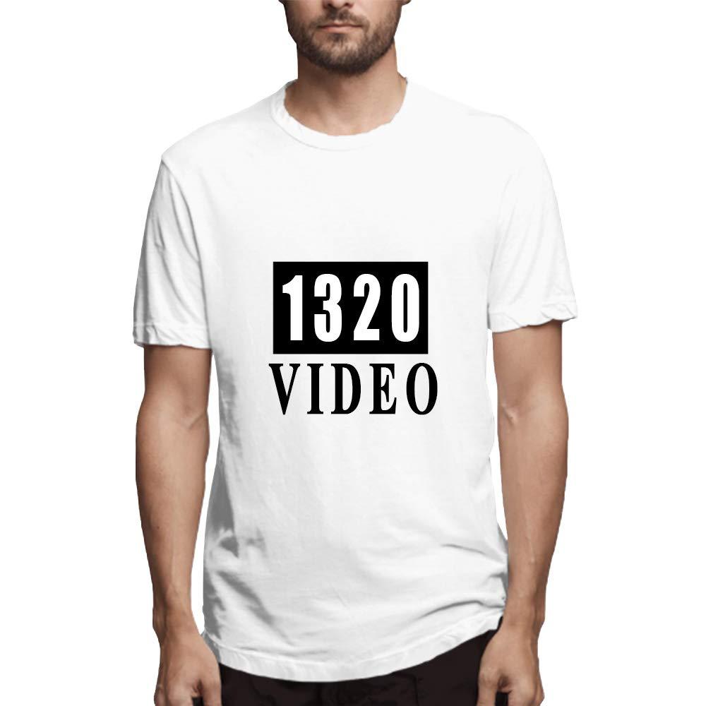 Thetrinigee Mens T-Shirt Short-Sleeve T-Shirt Mens Essential Cotton T-Shirt Short Sleeve