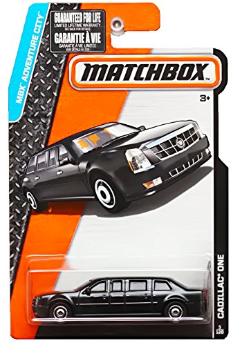 Matchbox 2015 MBX Adventure City 5/120: The Beast Cadillac One Limo Presidential Limousine ()