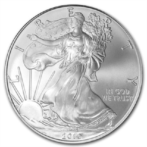 2010 – 1 oz American Silver Eagle .999 Fine Silver Dollar Uncirculated US Mint