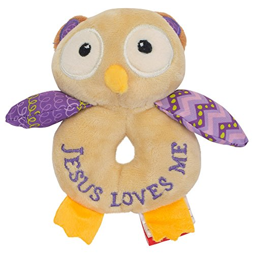 (Wee Believers Lil' Prayer Buddy Opal the Owlet Jesus Loves Me Plush Stuffed Animal)