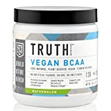 Cheap Truth Nutrition Fermented Vegan BCAA Powder – Watermelon | 30 Servings | Plant Based, Non-GMO, Gluten Free | Branched Chain Amino Acids | Pre/Post Workout Supplement