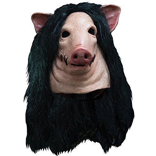 Morris Costumes Halloween Party Fashion Holiday Apparel Outfit Blood Pig Latex Adult Cool Mask