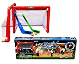 Fun Gripper Grip Zone Mini Hockey Goal Set 2-Nets and 2-sticks By: Saturnian I