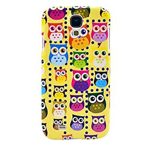 Mini Owl Glossy Plastic Hard Cover for Samsung Galaxy S4 I9500