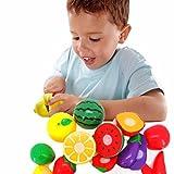 Coromose 1Set Cutting Fruit Vegetable Pretend Play Children Kid Educational Toy