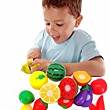 Coromose 1Set Cutting Fruit Vegetable Pretend Play Children Kid Educational Toy