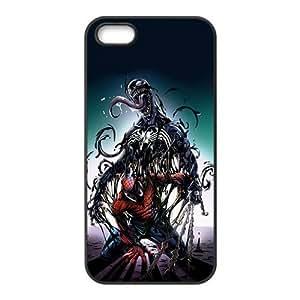 Happy Venom Spider-man Fashion Comstom Plastic case cover For Iphone 5s