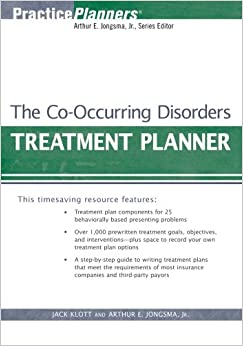 Book The Co-Occurring Disorders Treatment Planner