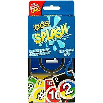Amazon.com: Mattel Games UNO Splash Card Game: Toys & Games