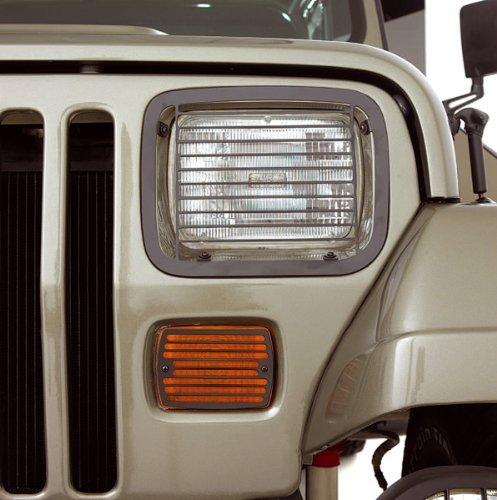 95 Jeep Wrangler Stone Guard (Billet Aluminum Stone Guard Set, 87-95 Wrangler)