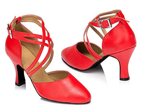MGM Joymod e Moderno Heel Donna 8cm Red Jazz Zrxwqr