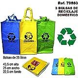 Premier Housewares - Juego de Bolsas de Reciclaje (3 ...