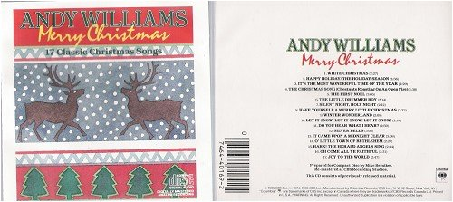 Andy Williams - Merry Christmas: 17 Classic Christmas Songs ...