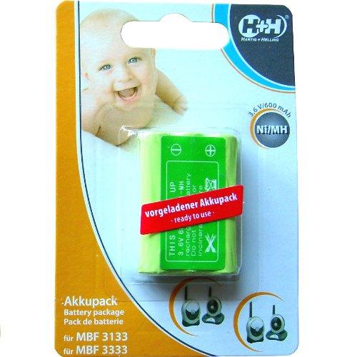 H+H Akku MBF 3333/3133 für Babyruf 98446