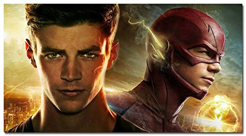 Tomorrow sunny The Flash Barry Allen TV Series Silk Fabric Poster 24*36inch 006