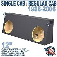12 Dual ported Single cab / Regular cab sub woofer box