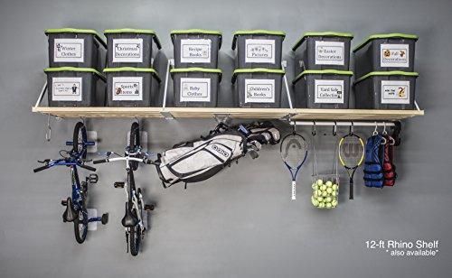 DIY Rhino Shelf Garage Shelves (12 Foot Length, 33.5) by RhinoShelf.com