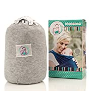 THE BEST BABY WRAP CARRIER for Newborns, Infants, Toddlers, Ergonomically-Designed Child Carriers, Makes Parent-Child Bonding Time Easier & Extra-Comfortable, The Perfect Baby Shower Gift